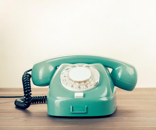 gruenes Telefon